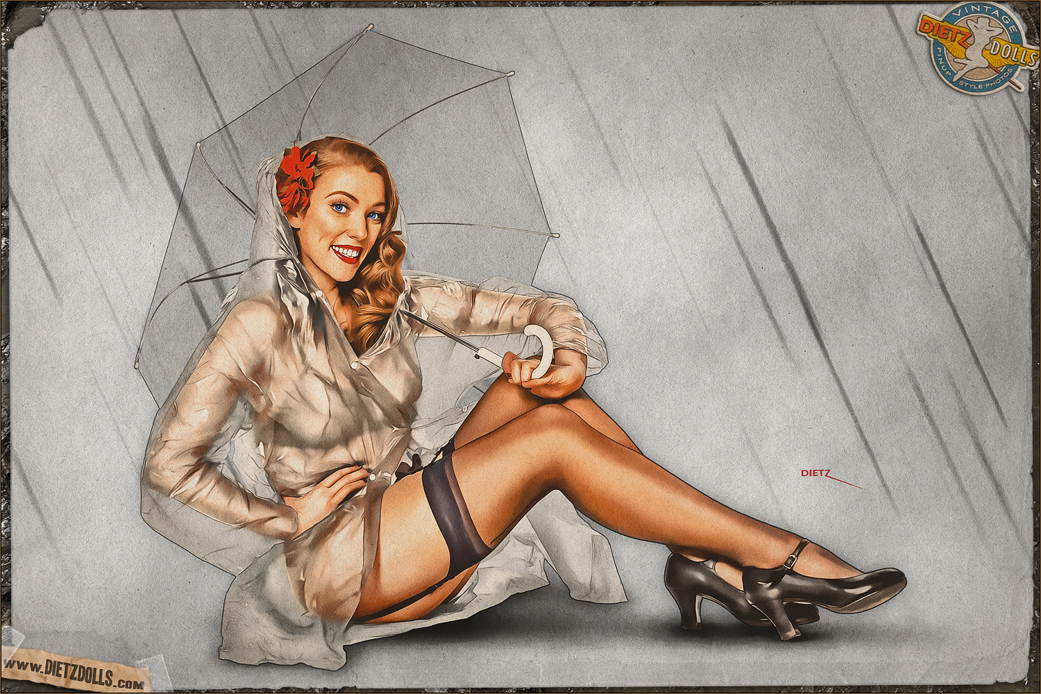 Dietz Dolls Pinup Photo of the Day